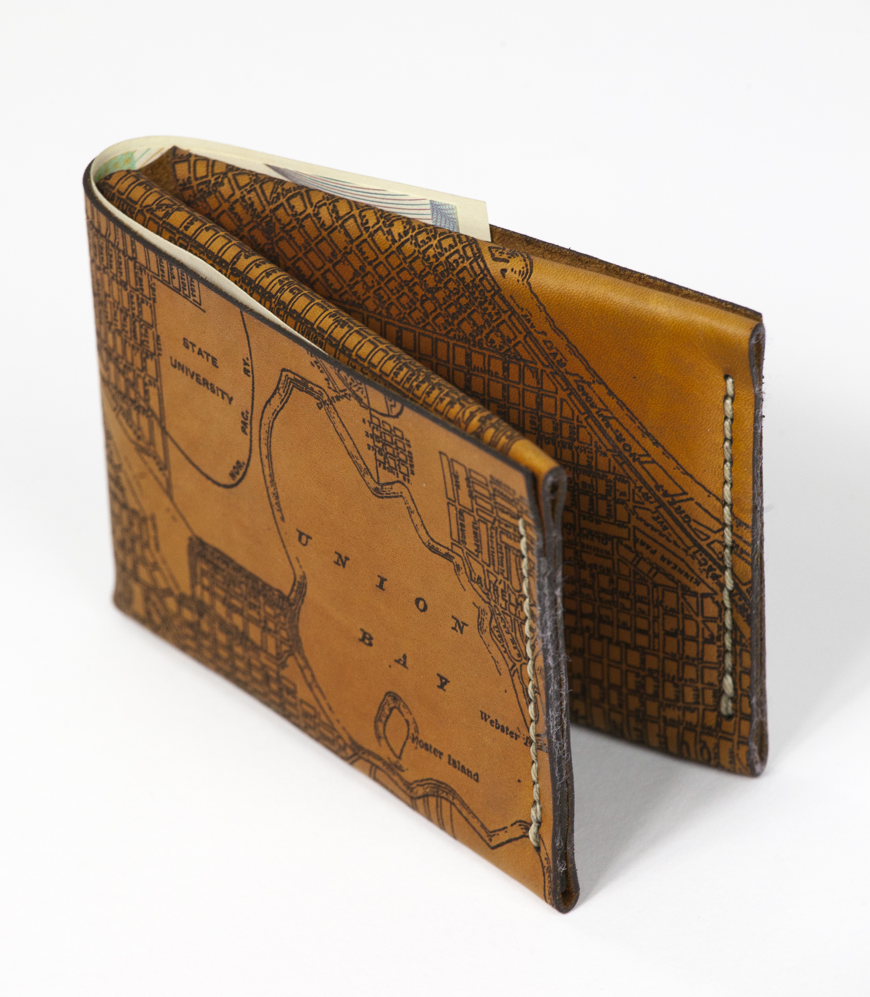 Glowforge engraved leather wallet – Fine Balance Imaging