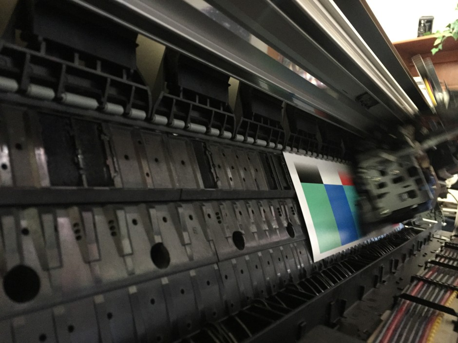 Our Epson 9800 is actually printing again!