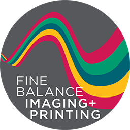Fine Balance Imaging & Printing – Whidbey Island Printing and Design Logo