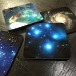 Cosmic Imagery on Custom Coasters