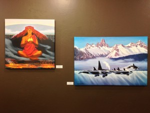 Herb Kane canvas gallery wrap prints from original oil paintings